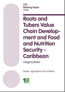 Book: Roots and tubers value chain development and food and nutrition security – Caribbean