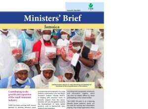 CARDI Ministers' Brief, July 2017: Jamaica special issue