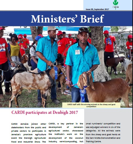 CARDI Ministers' Brief, September 2017