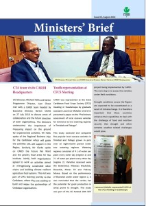 CARDI Ministers' Brief: issue 03, August 2016