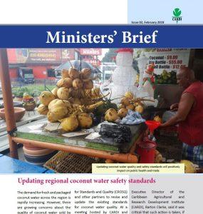 CARDI Ministers' Brief, February 2018
